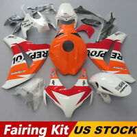 Orange Fairings Kit for Honda CBR 1000 RR 2008-2011 ABS Injection Bodywork 09 10