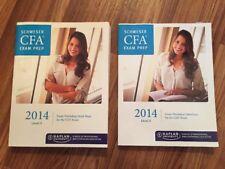 CFA Exam Prep: Schweser 2014 Exam Workshop Questions & Mind Maps- CFA Exam Lev 2