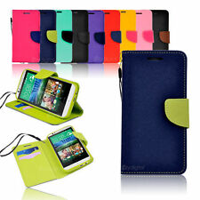 Unbranded/Generic Matte Mobile Phone Wallet Cases for HTC