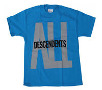 DESCENDENTS T-Shirt ALL Logo Blue New Authentic S-2XL