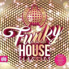 FUNKY HOUSE CLASSICS MINISTRY OF SOUND 4CDs Inc David Guetta Axwell (NEW/SEALED)