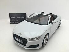 Minichamps 1:18 DEALER EDITION AUDI TT ROADSTER GLACIER WHITE 5011400515 V.RARE
