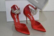 Zapatos de tacón de mujer Manolo Blahnik color principal rojo