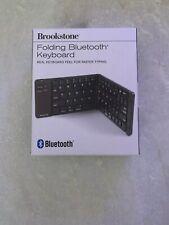 New listing Brookstone Folding Bluetooth Keyboard