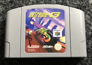 *Cartridge Only* Extreme G Nintendo N64 Racing Video Game PAL