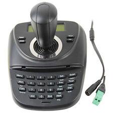 New CCTV PTZ Control Keyboard LCD Display Mini 3 Dimension joystick Controller