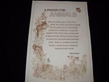 * Tri Chem 8073 Prayer For Animals Liquid Embrodery Picture to paint Trichem