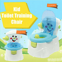 Baby Toddler Toilet Trainer Children Pee Training Potty Seat Chair Removable ❤