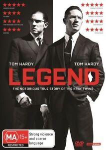 Legend (DVD, 2016) NEW
