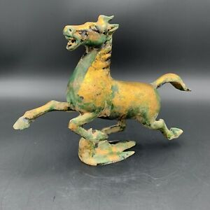 "Vintage ""The Flying Horse of Gansu"" Stepping On Swallow Han Dynasty"