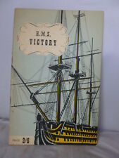 Nelson's Victory by Captain A Grant - Illustrated Guide  1946