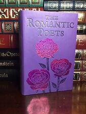 Romantic Poets New Textured Leather Feel Keats Blake Wordsworth Poems Poetry