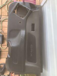 90-91 Honda CRX Right Passenger Side Door Panel Lining Gray Liner OEM