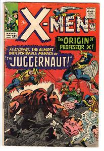 X-MEN #12 (1965) - GRADE 4.0 - 1ST APPEARANCE OF JUGGERNAUT - SILVER AGE COMIC!
