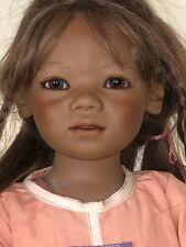 """SALINDA 309/377 (Indonesia) 34"""" Doll by ANNETTE HIMSTEDT Germany_w Box NICE!"""
