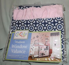 COCALO BABY MAIDSON WINDOW VALANCE POLYESTER BLEND NIP