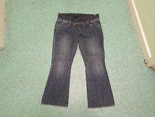"Dorothy Perkins Bootcut Maternity Size 14s Leg 30"" Faded Dark Blue Ladies Jeans"