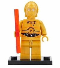 Figurine Star Wars 4,5cm bloc construction : C-6PO