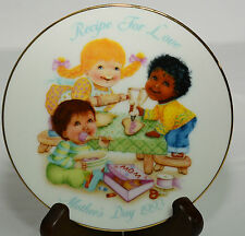 Avon Mother's Day 1993 Decorative Plate Recipe For Love Baking Cookies Mom Bake