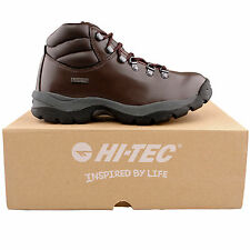 HI-TEC Walking, Hiking, Trail 100% Leather Boots for Men