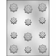 SnowFlakes CHOCOLATE Candy  MOLD  Holiday Christmas