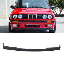 Fits 84-92 BMW E30 MTech Style Front Lip Spoiler Lower Valance Unpainted