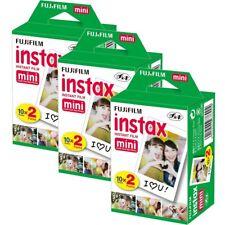 60 X fotos Fujifilm Fuji Instax Mini 8 7s Mini 90 50 Cámara de película
