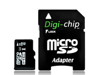 Digi Chip MicroSD Memory Card for Go Pro Hero 4, Hero 5, Hero 6, Hero 7, Session