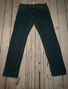 "Hugo Boss Mens Stretch Denim Tapered Jeans W34"""