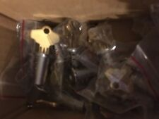 100 Bulk Vending Machine Locks Northwestern Oak Eagle Gumball Candy Toy $4 each!