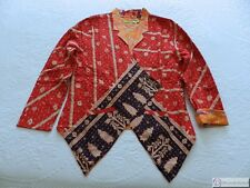 Waistcoat Jacket by Reme ~ 100% Quilted Cotton ~ Size Large