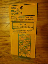 Gold Medal Models N #16028 Bicylces & Bike Racks (Stainless Steel)