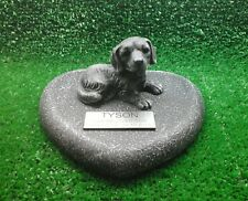 Dog Large Pet Memorial/headstone/stone/grave marker/memorial with plaque 10a