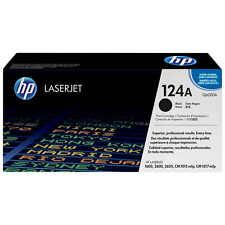 NEW GENUINE SEALED HP TONER Q6000A CARTRIDGE 1600 2600 124A BLACK