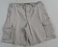Old Navy Men's Casual Cargo Khaki Shorts - Tag 35/Measured 36