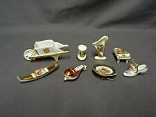 Job Lot / Collection Of Miniature Limoges Dolls House Pieces - Lot 3