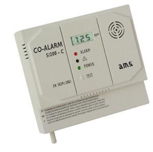 Kohlenmonoxidmelder CO-Melder mit Schaltkontakt