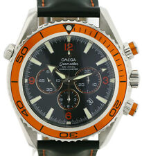 Omega Seamaster Planet Ocean Cronografo co-assiale RARE Herenuhr ø45mm