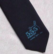 Anni'80 tennis da tavolo Coppa del mondo Tie retrò vintage 1989 555 Nairobi KENIA NAVY