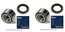 KOYO Front Wheel Hub Bearing & Seal Set for LEXUS SC300 SC400 1992-2000 PAIR