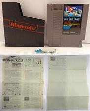 NES Console Gioco Game Play NINTENDO 8 BIT PAL B European Version - CLU CLU LAND