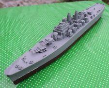 "1950's vintage PYRO TOYS large plastic Cruiser war ship: USS CHICAGO @14"" long"