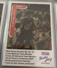 Jerry Codinera Purefoods TJ Hotdog Basketball card