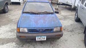For 1988-1993 Ford Festiva Parking Light Set 14392MQ 1989 1990 1991 1992