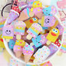 20-pack Mixed Resin Ice Cream Bars Cartoon Flat Back Craft Making Embellishments