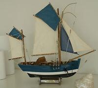 """Fischerboot """"Thonier"""" Kutter Boot Fischen Maritim Schiff Dekoration Neu 0315"""