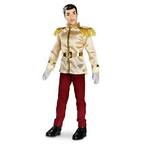 """Disney Authentic Cinderella Prince Charming Doll Toy Figure 12"""" Girls NEW in BOX"""