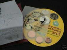 2007 BU SAINT MARIN 9 pièces EURO san marino