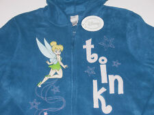 Tinkerbell Full Zip Fleece Hoodie Women's size Small, New w/Tag