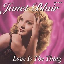 CD-Janet Blair-Love Is the Thing  Dec-2004, Collectors' Choice Music)